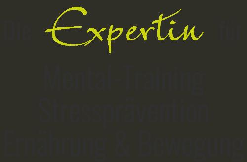 DIE EXPERTIN für Mental Training Stressprävention Ernährung