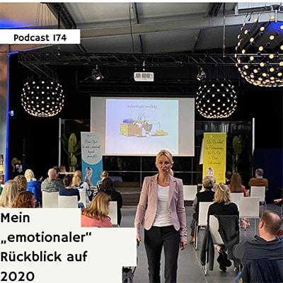 """Folge 174 - Mein """"emotionaler"""" Rückblick auf 2020"""